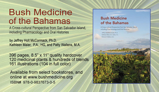 Bush Medicine of the Bahamas - Bahamian medicinal plants