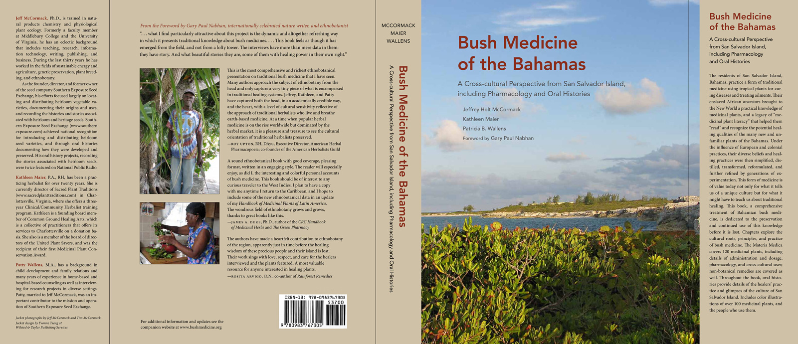 Bush Medicine of the Bahamas book jacket - large image