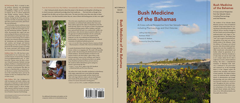 Bush Medicine of the Bahamas book jacket - small image